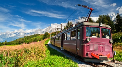 Train from Le Montenvers