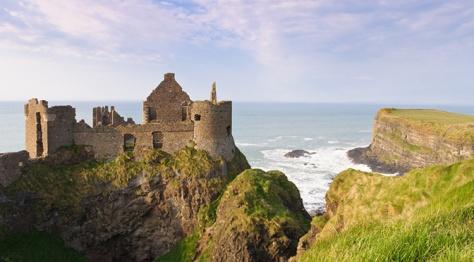 An Irish Coastal Castle