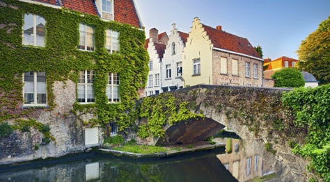 Bruges Canals Belgium