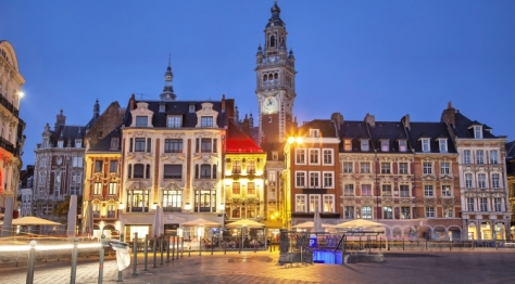 Lille Old Town France