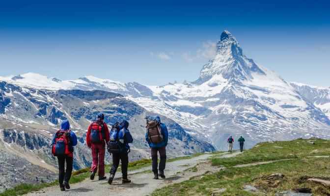 Walking The Haute Route: Europe's Most Spectacular Hike