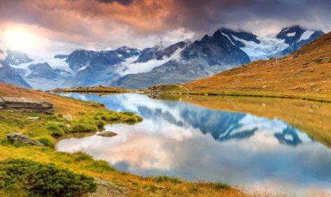Valais region Haute Route