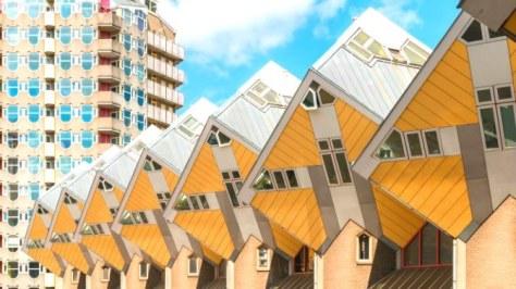 Cube Houses Rotterdam Netherlands