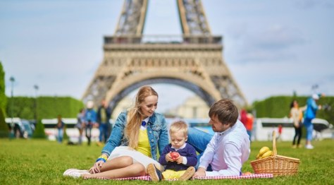 Picnic Eiffel Tower Paris