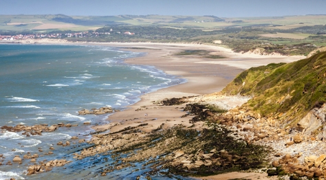 Beautiful Calais coastline