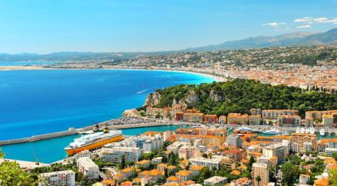 Nice, a view of the French Riviera