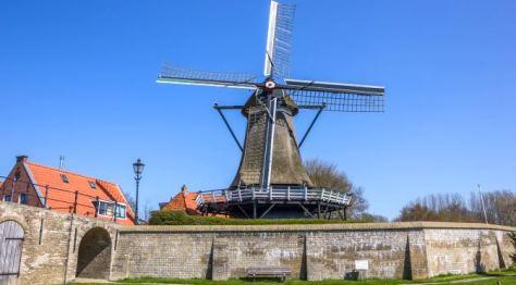 Sloten Windmill Amsterdam