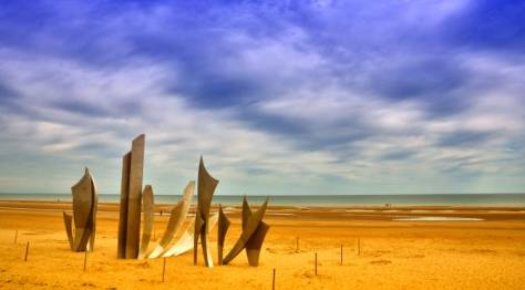 Omaha Beach Normandía