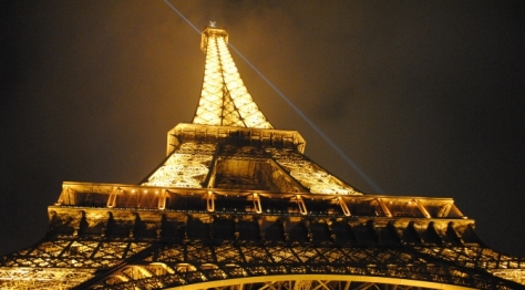 Eiffel Tower on New Year's Eve