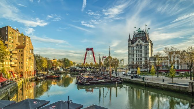 Romantic Weekend in Rotterdam
