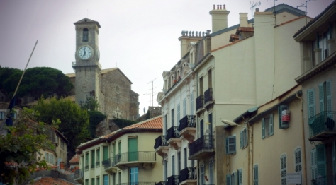 Le Suquet Hill district in Cannes