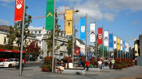 Eyre Square in Galway