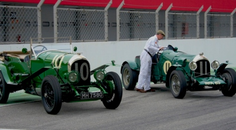Old Cars from 24 Hours Le Mans