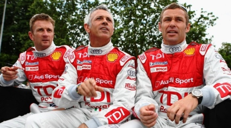 Nine times 24 Hours Le Mans champion Tom Kristensen