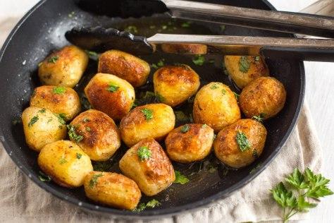Buttery chateau potatoes