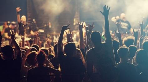 rock festival in Europe