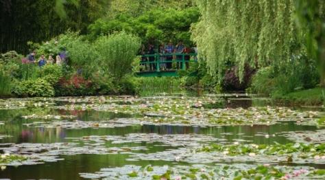 Claude Monet's house and gardens near Paris
