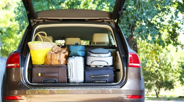Packing your car for a holiday in France