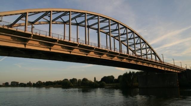 Arnhem Bridge - site of Operation Market Garden
