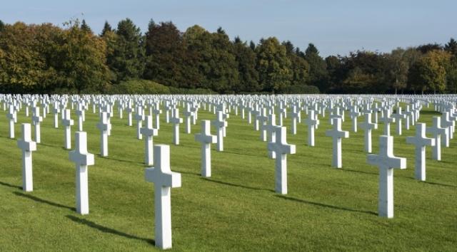 Henri-Chappelle American Cemetery in Belgium