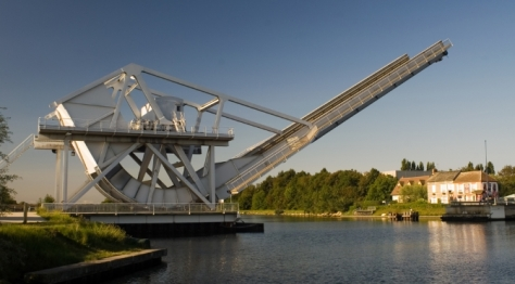 Pegasus Bridge in Normandy - the first D-Day landing point