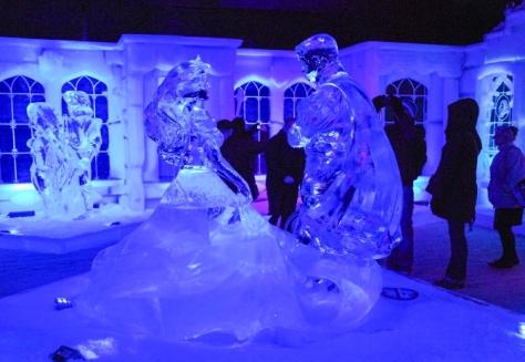 Ice sculpture festival, Bruges - Suzanne Gielis